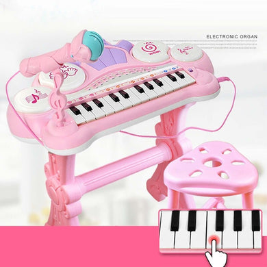 Legacy Kids  24 Keys Electronic Keyboard Piano Organ Toy Multifunctional Kids Educational Toy Gift Children Musical Instrument