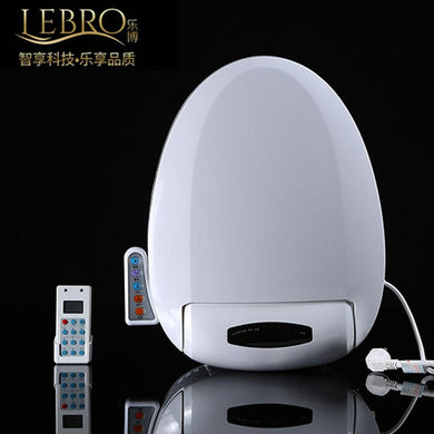 Smart Heated Toilet Seat Remote Control Intelligent Bidet Toilet Seat