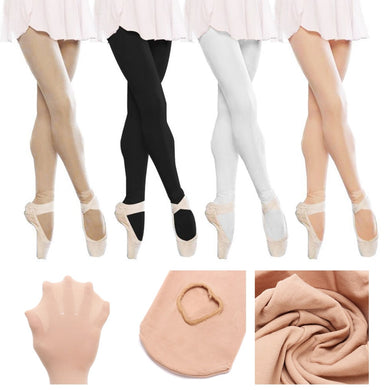 Children Girls Convertible Tights Ballet