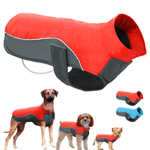 Waterproof Dog Winter Coat Warm Puppy Jacket Vest