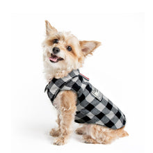 Load image into Gallery viewer, Warm Dog Clothes Coat British Style Pliad Pet
