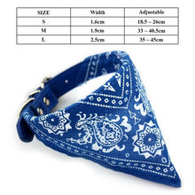 Load image into Gallery viewer, Dog Bandana Collar Scarf Dog Accessories Scarf Plaid