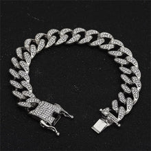 Load image into Gallery viewer, Trendy Cuban Necklace 13mm Imported Hip hop Jewelry Choker