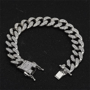 Trendy Cuban Necklace 13mm Imported Hip hop Jewelry Choker
