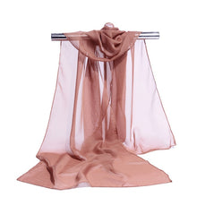 Load image into Gallery viewer, 19 Colors Chiffon Scarf  Women Summer Silk Scarves  Chiffon
