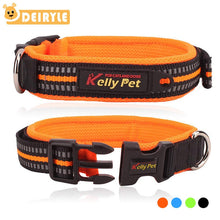 Load image into Gallery viewer, Heavy Duty Adjustable Nylon Dog Collar with Buckle