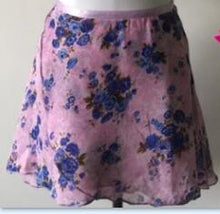 Load image into Gallery viewer, Ballet Dance Skirt Floral