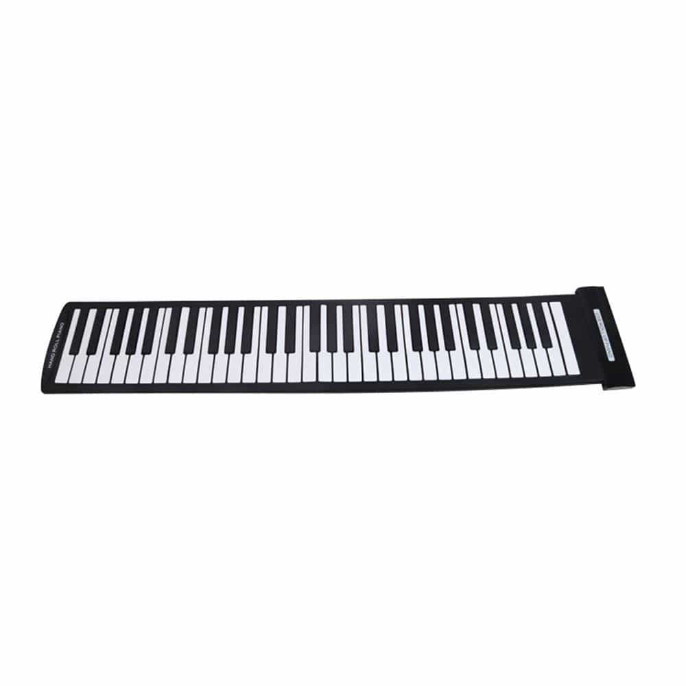 Portable 61 Keys Flexible Roll-Up Piano - dBHeard Enterprise Conglomerate Llc