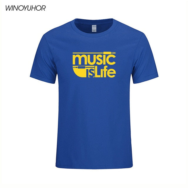 Music is Life Tee - dBHeard Enterprise Conglomerate Llc