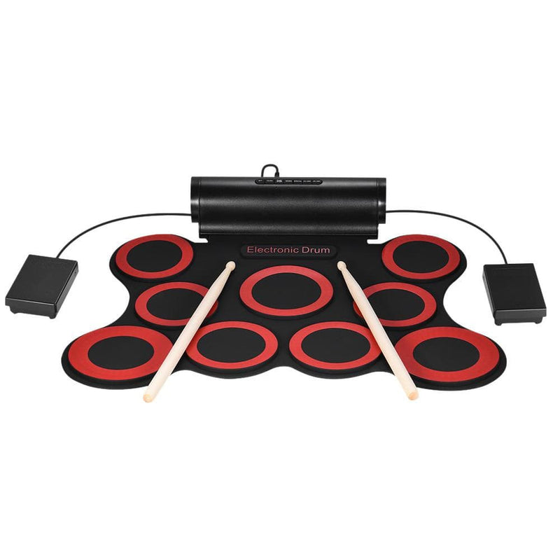 Portable Stereo Digital Electronic Roll Up Drum Kit - dBHeard Enterprise Conglomerate Llc