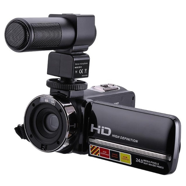 3.0in LCD Touch Screen Handy Camcorder 1080P - dBHeard Enterprise Conglomerate Llc