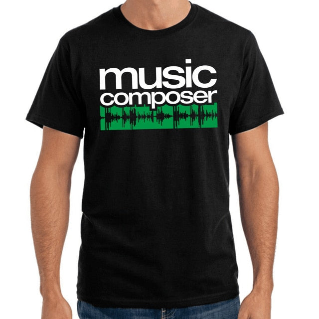 Music Composer T Shirt - dBHeard Enterprise Conglomerate Llc