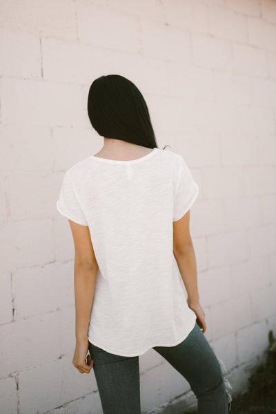 Everyday White Tee