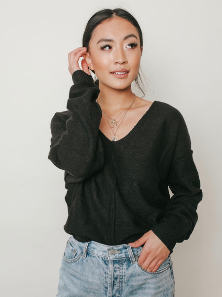 Black For The Holidays Sweater