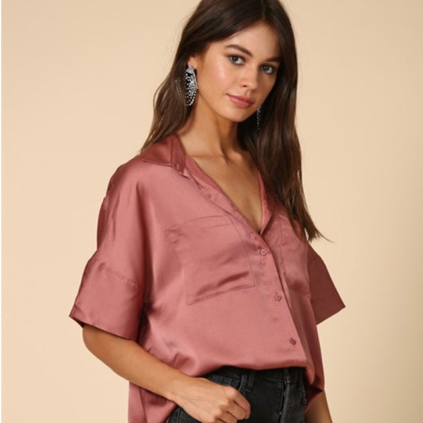 Ella Silk Blouse