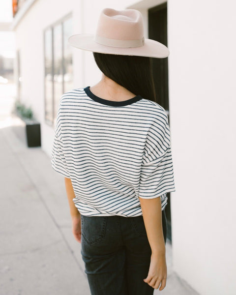 Monica Striped Tee