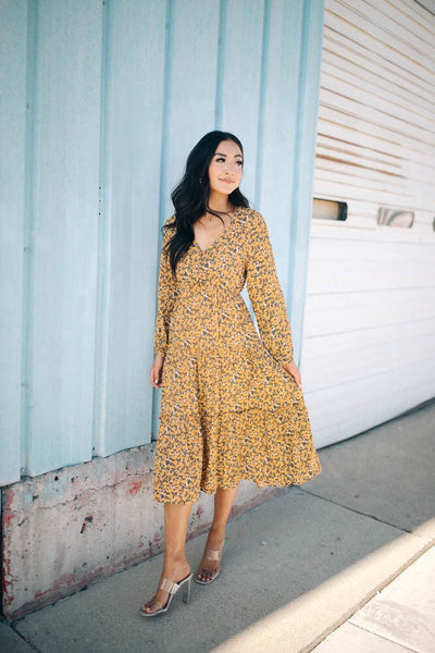 Avery Floral Dress