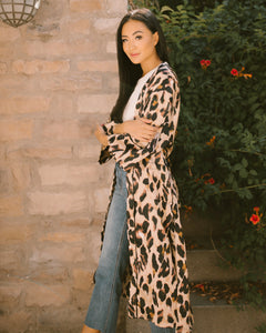 West Coast Leopard Duster