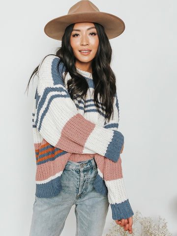 Livy Striped Pullover