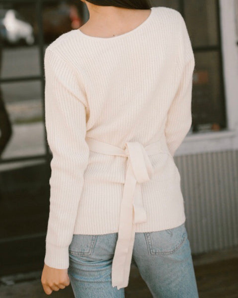 Forget Me Knot Sweater