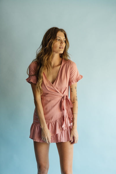Athens Wrap Dress