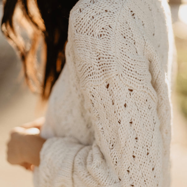 Ivory Magic Pullover