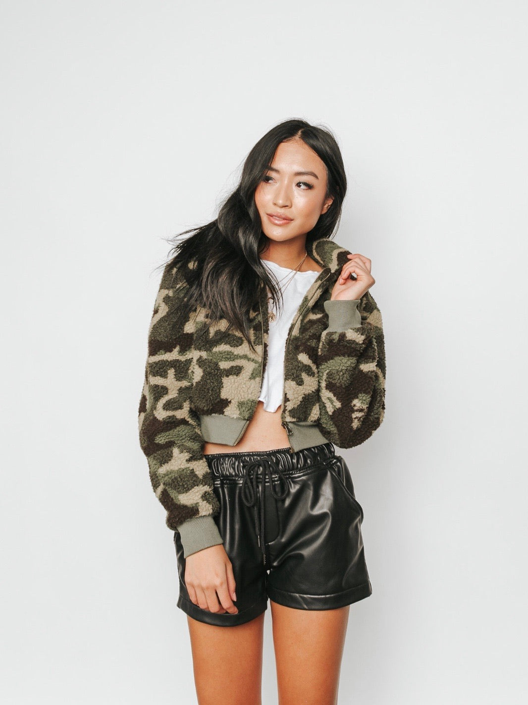 Camo Always Teddy Jacket