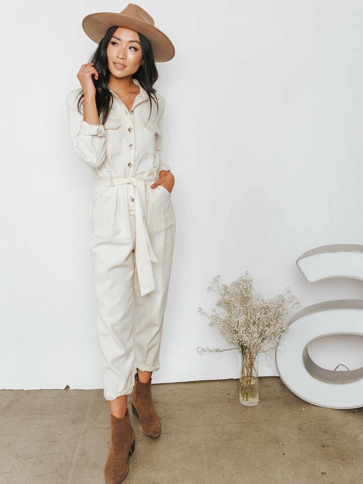 Maxwell Utility Jumpsuit