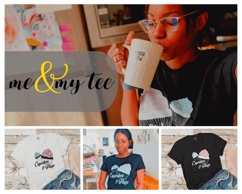 Me & my tee featured on Maturing Mama blog