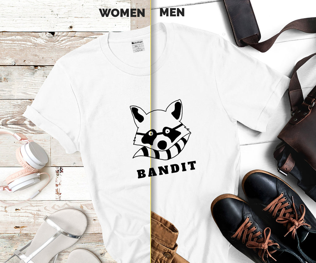 Fathers day gift, fathers day shirt racoon bandit custom tshirt