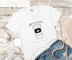 Coffee gift, Coffee lover, But First Coffee, Good vibes only Custom Shirts Unisex