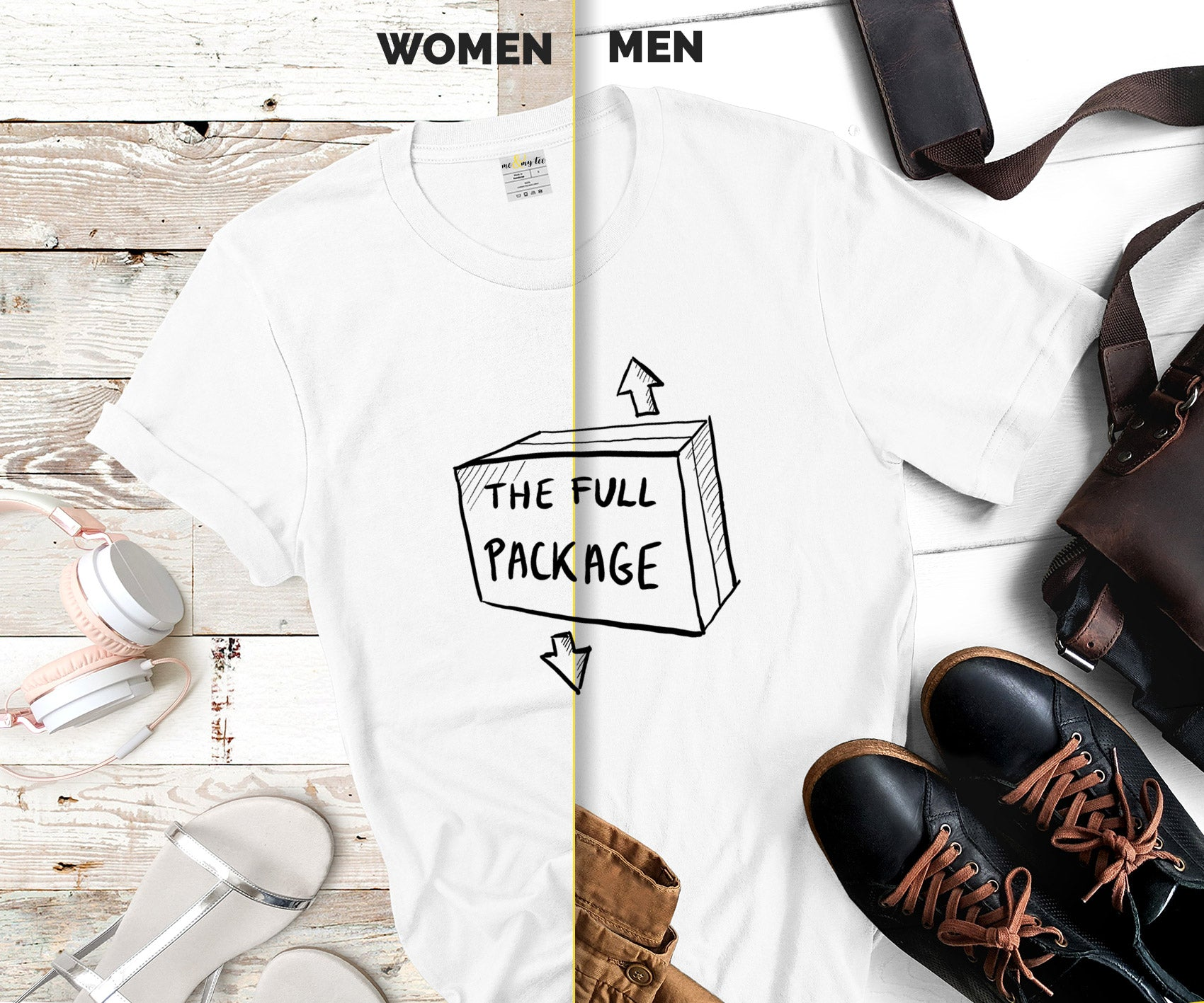 The full package tshirt