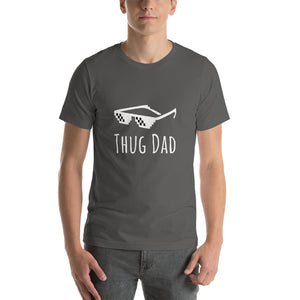 Fathers day gift, First fathers day gift, Thug t-shirt, Dad shirt, custom shirts