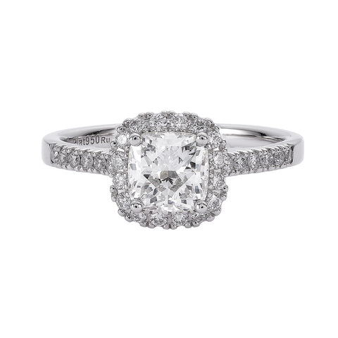My Girl Diamond Engagement Ring in Platinum