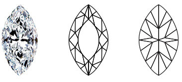 marquise shape diamond by shimansky jewelers