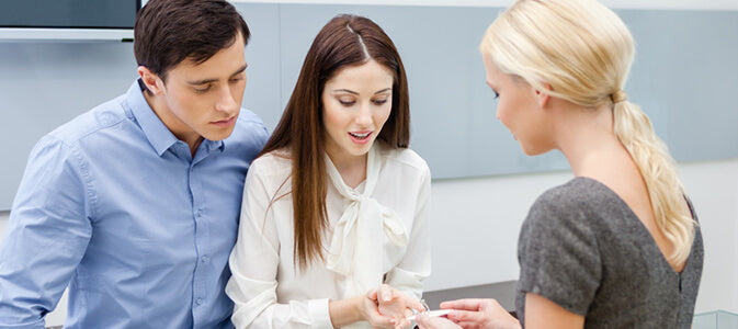 Engagement Ring Shopping: Surprise or Involve Her? | Shimansky