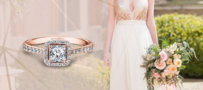 Discover Your Love For Rose Gold Engagement Rings