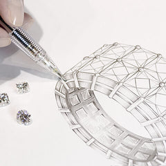 shimansky custom jewelry design platinum diamond jewelry