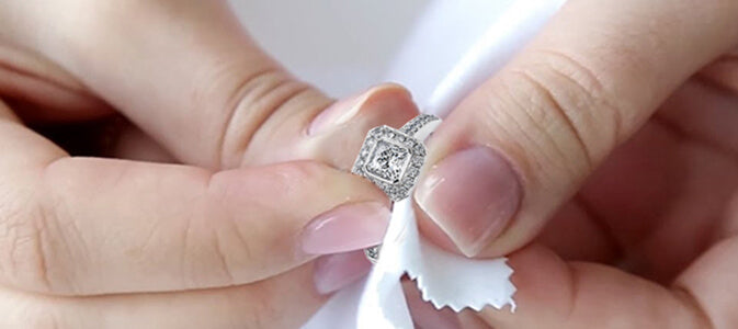 e4c64462c How to Clean and Care for Your Diamond Rings and Fine Jewelry ...