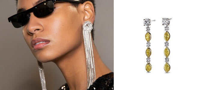 New York Fashion Week Earrings | Shimansky