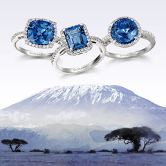 tanzanite sourced direct from Tanzania, Shimansky Jewelers