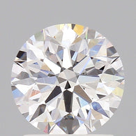 1.16 Carat E/VVS2 Round Brilliant Cut Loose Diamond GIA Certified Front View