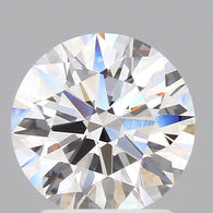 1.72 Carat D/VVS1 Round Brilliant Cut Loose Diamond GIA Certified Front View