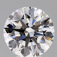 4.30 Carat G/IF Round Brilliant Cut GIA Certified Loose Diamond Front View