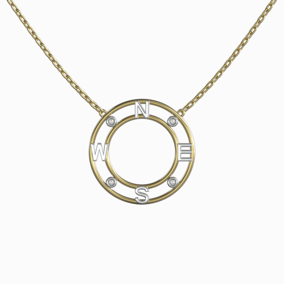 Shimansky True North Light Pendant 18k yellow gold