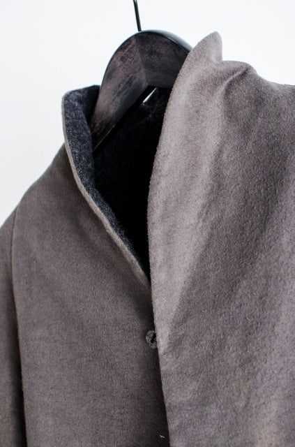 ma + reversible jersey jacket wool 46 gray tailored jacket