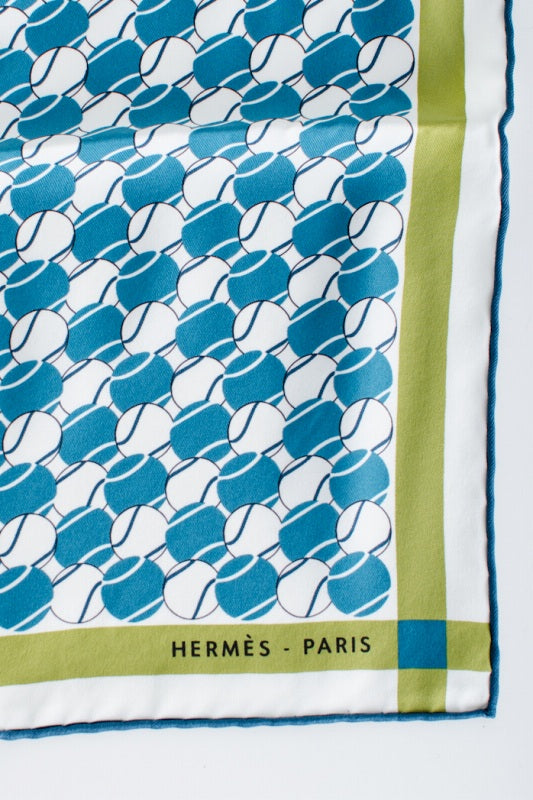 HERMES Hermes [mini Carre Silks Calfskin] USED used