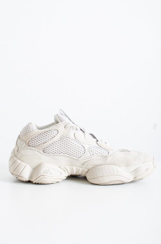 YEEZY 500 adidas low cut sneakers sand white sneakers