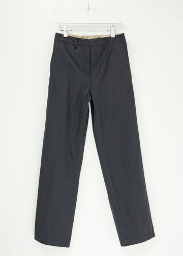 LEMAIRE  STRAIGHT LEG PANTS コットン 46  黒 その他ボトムス