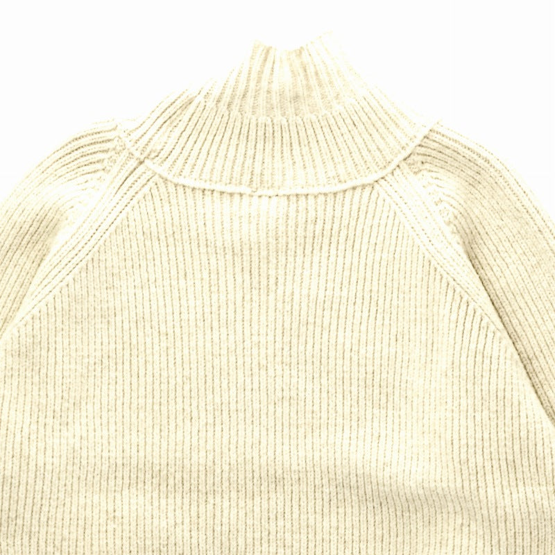 JAN-JAN VAN ESSCHE 19AW KNIT#47 OVERSIZED TURTLE NECK ウール NATURAL MERICHAN   ニット [京都]